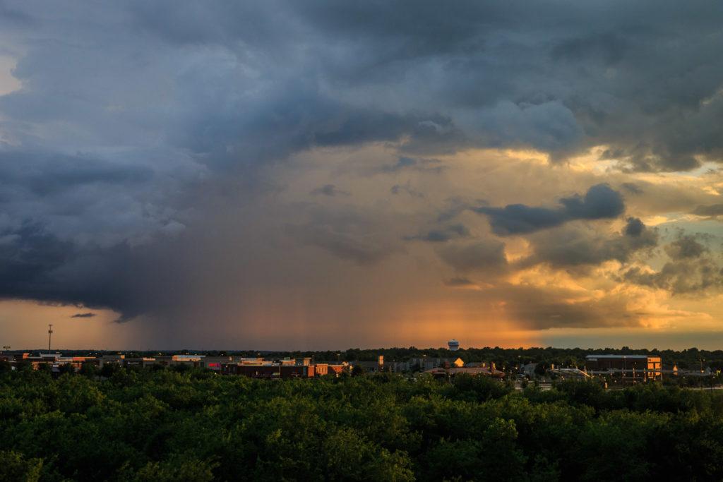 Sunset storm - Norman, OK - © TsWISsTER
