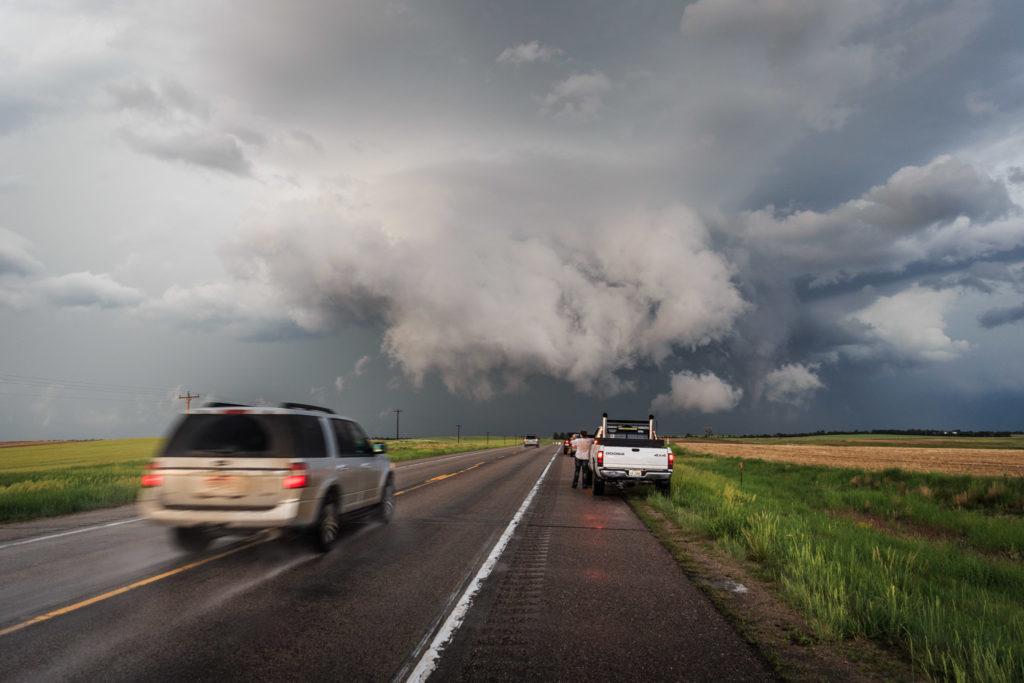 Storm Chaser Convergence - Nebraska - © TsWISsTER