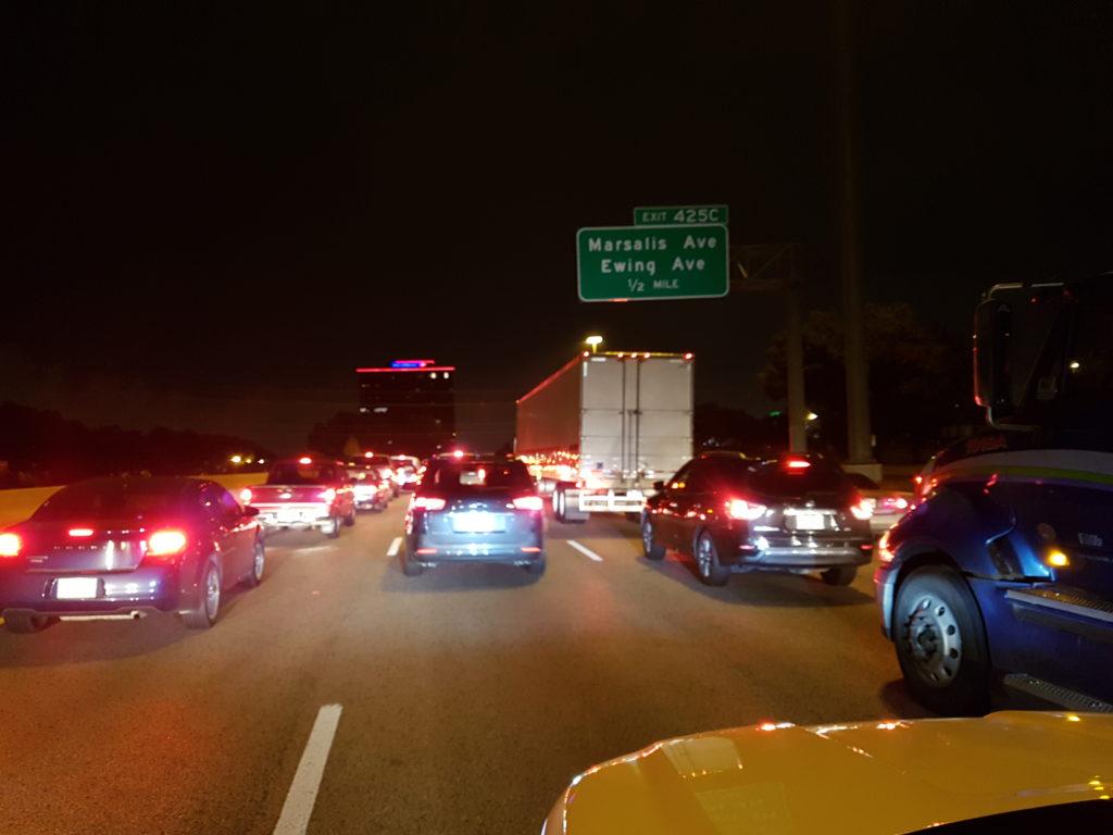 City traffic jam - Dallas, TX - © TsWISsTER