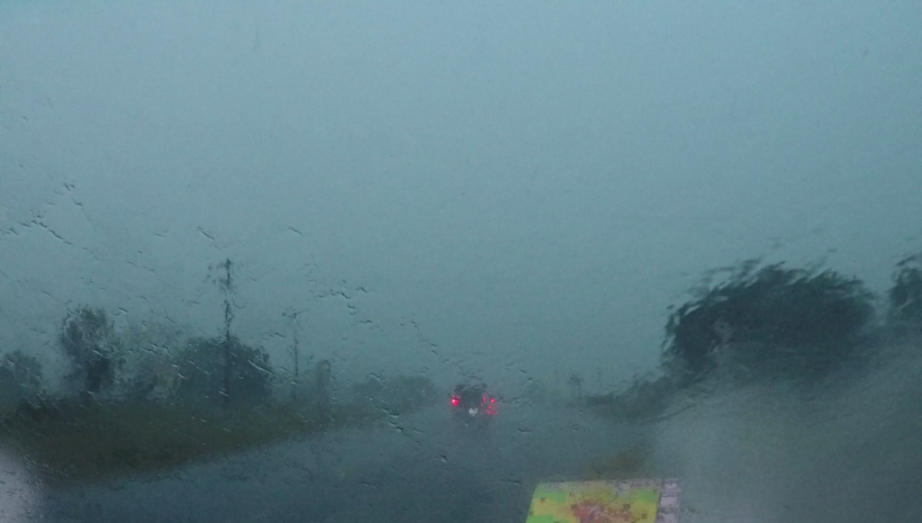 Driving in Extremely Heavy Rain - Colby, KS - © TsWISsTER