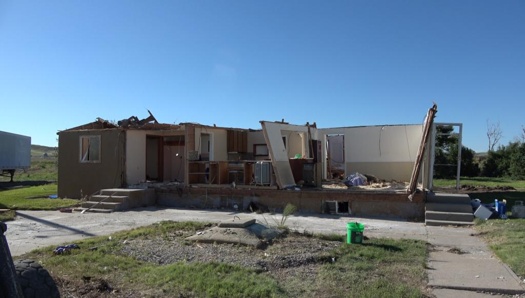 House torn apart - Scottsbluff, NE - © TsWISsTER