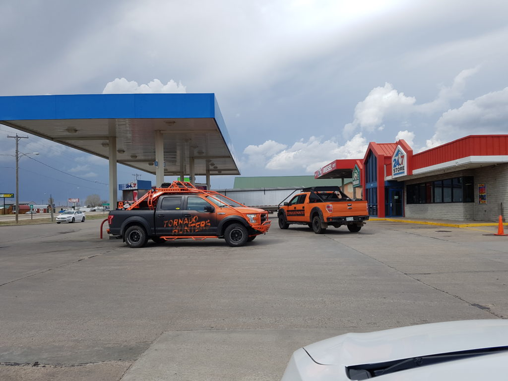 Gas Station Storm Chasers Meeting Point - Russell, KS - © TsWISsTER