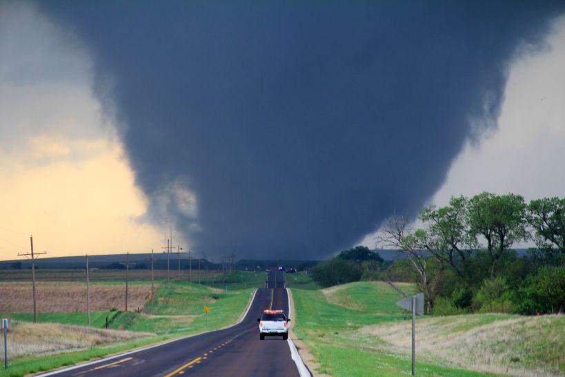 EF4 tornado - Kansas - By Will Campbell Public domain, via Wikimedia Commons
