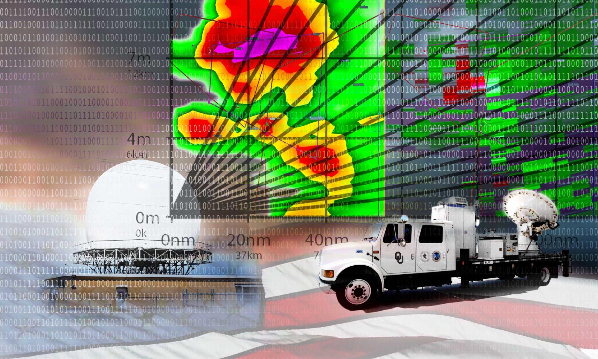 Doppler Weather radar illustration - © TsWISsTER