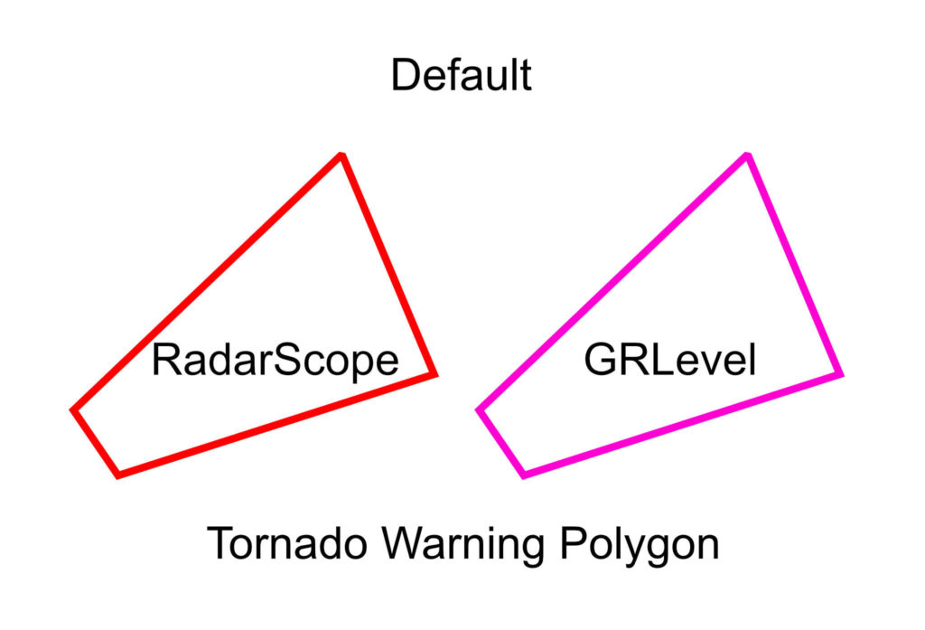 Default Tornado Warning Polygon - © TsWISsTER