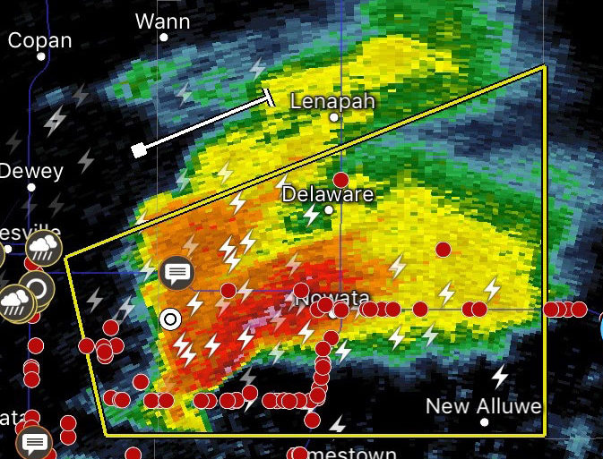 Echo radar classic supercell - Creative Commons Licenses CC - TsWISsTER