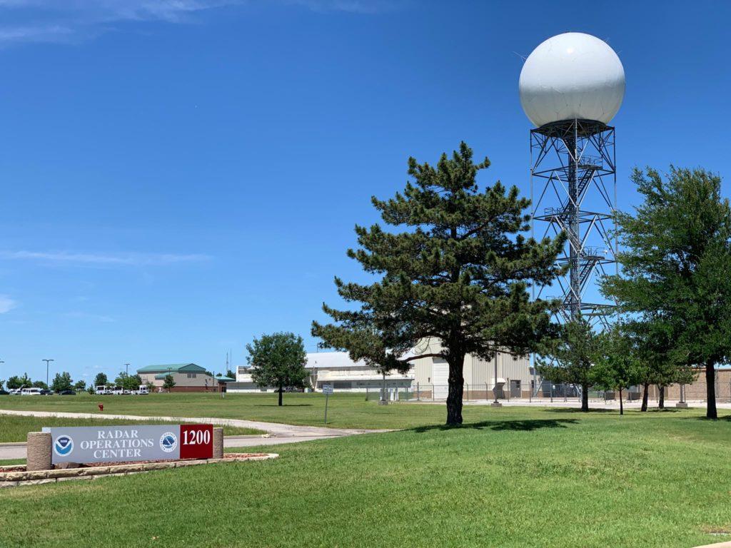 Norman, OK - Nexrad Doppler radar - © TsWISsTER