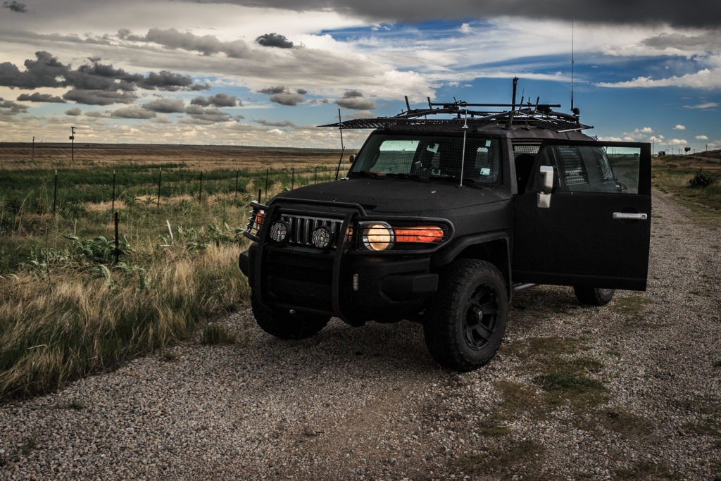 Storm Chasing 4x4 Vehicle - © TsWISsTER