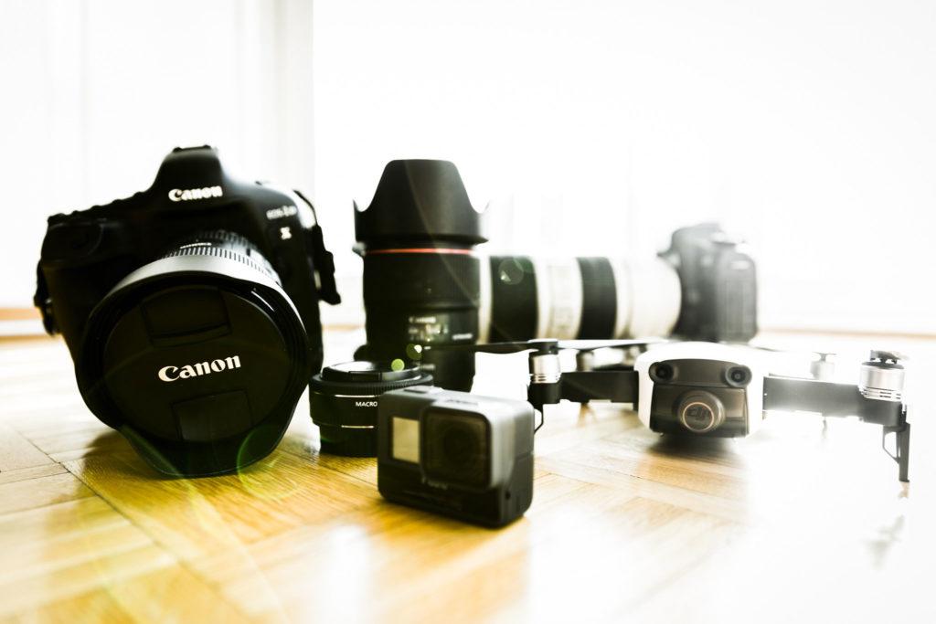 Camera equipement - © TsWISsTER