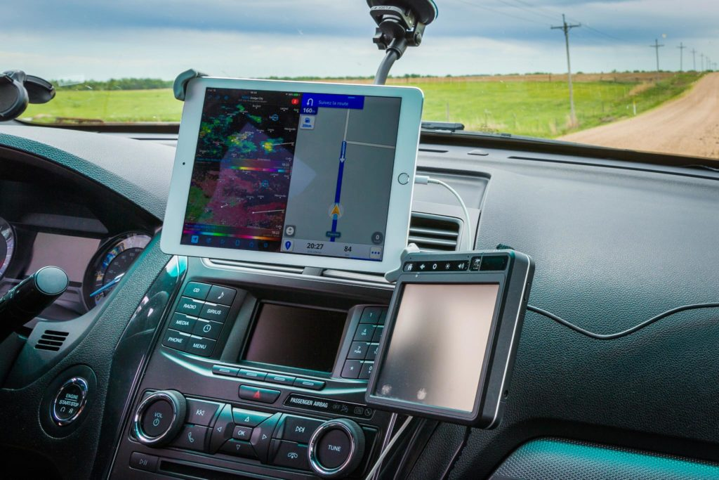 Storm Chasing with an iPad Pro - © TsWISsTER