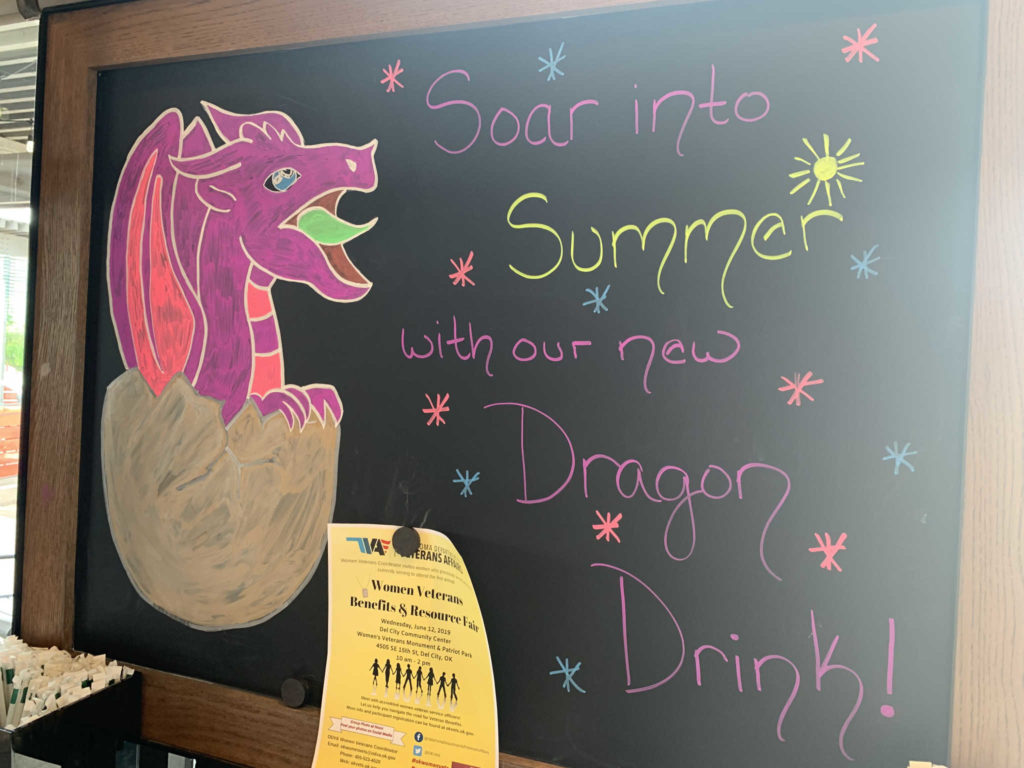 Dragon drink, starbucks, Lawton,TX - 20190520 - © TsWISsTER