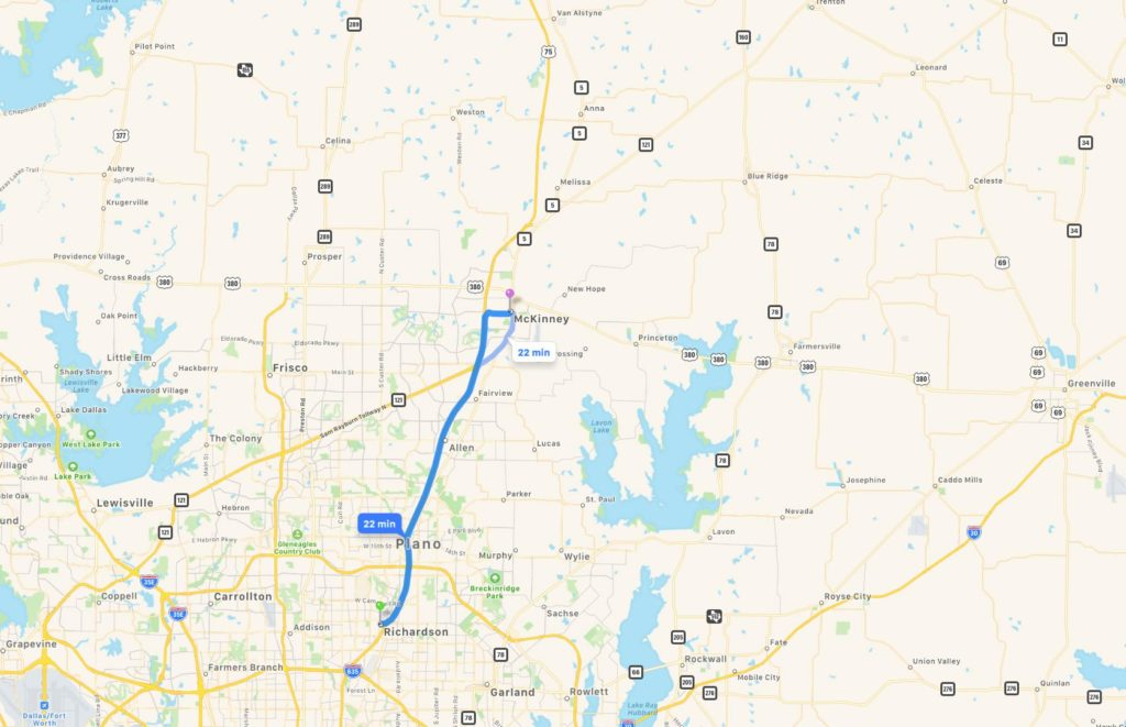 Richardson,TX - McKinney, TX - 20190518
